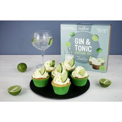 Gin Tonic Cupcake Kit