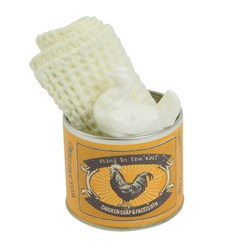 Mini Soap & Facecloth in a Tin
