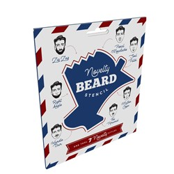 Novelty Beard Stencil