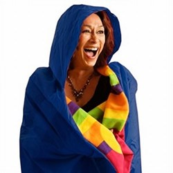 Outdoor Hooded Festival Blanket