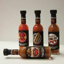 Bad Boys Extra Hot BBQ Sauces