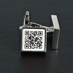 Secret Message Personalised Cufflinks