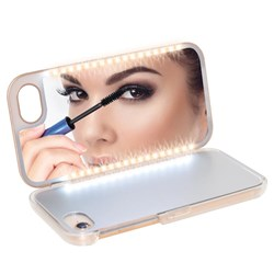 Light Up Mirror Case for iPhone