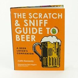 scratch sniff guide to beer book