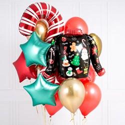 Christmas Helium Balloon Set