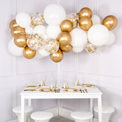 Christmas Gold Balloon Cloud Kit