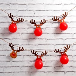 Christmas Reindeer Balloon Advent Calendar