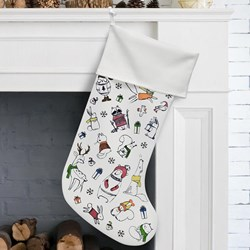 Festive Friends Christmas Stocking