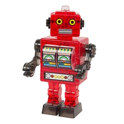 Retro Robot Crystal 3D Jigsaw Puzzle