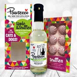 Pawsecco & Truffles Gift Set