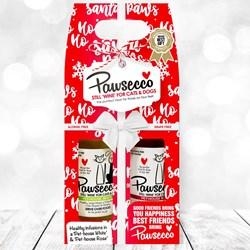 Christmas Pawsecco Duo Gift Pack
