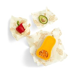 Assorted Bees Wrap Beeswax Cloths - Zero Plastic Clingfilm