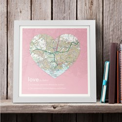 Personalised Love Definition Map