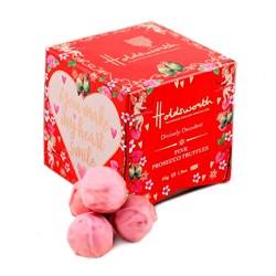 Petite Pink Prosecco Truffles Cube