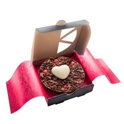 Mini Heart Chocolate Pizza