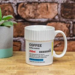 Coffee Pill Pot Mug