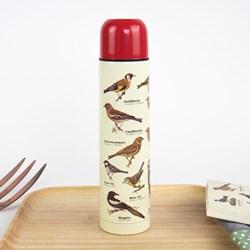 Garden Birds Vacuum Flask