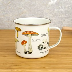 Mushrooms Enamel Mug