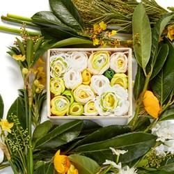 Neroli & Lime Leaves Bathing Flowers