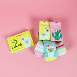 Lily the Llama Socks Gift Set