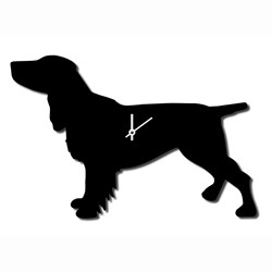Spaniel Wagging Tail Clock