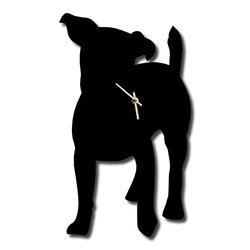 Jack Russell Wagging Tail Clock