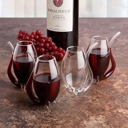 Port Decanter and Sippers Set (5 piece)