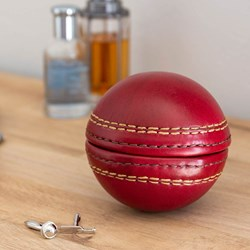 Cricket Ball Cufflink Case
