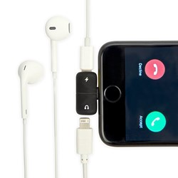 2 in 1 Phone Charger and Headphone Splitter
