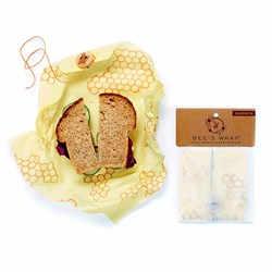 Sandwich Beeswax Wrap: Zero Plastic Clingfilm