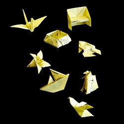 Origami Post It Notes