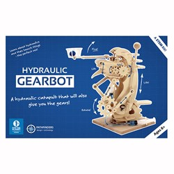 Hydraulic Gearbot Wooden Construction Kit