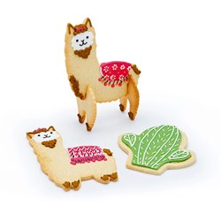 Llama Cookie Cutter Set