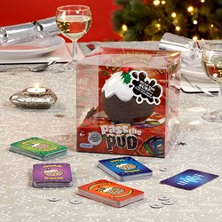 Pass The Pud Christmas Game