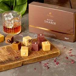 Boozy Fudge Sharer Box