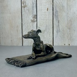 Greyhound Bronze Sculpture