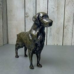 Golden Retriever Bronze Sculpture