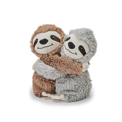 Warmies Microwavable Plush Twin Sloth