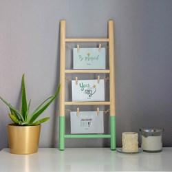Wooden Photo Ladder