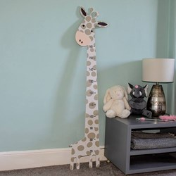 Children's Giraffe Measuring Board
