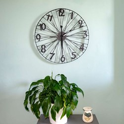 Bicycle Wheel Wall Clock