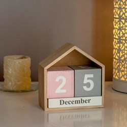 Decorative Block Calendar