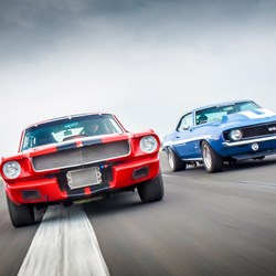 Double American Muscle Car Blast: For One