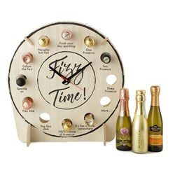 Prosecco Fizz Time Clock Set: Includes 12x 20cl bottles
