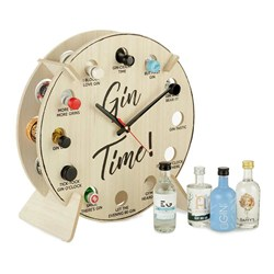 Gin Time Clock Set: Includes 12x 5cl bottles