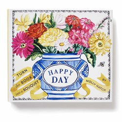 Happy Day Bouquet In A Book