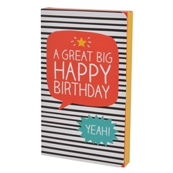 A Great Big Happy Birthday Chocolate Gift Card