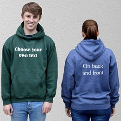 Adult Personalise Your Own Hoodie | Choose Your Own Text