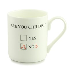 Are You Childish? Mug | An extremely cheeky mug