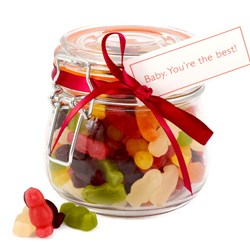 Baby You're The Best Sweets | Jar of Jelly Babies
